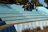 On the blue stairs (abrinsky) Tags: india nagaland kohima hornbillfestival hornbill2016
