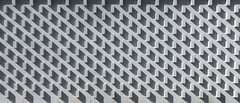 Shadow Play (Chris Huddleston) Tags: shadow pattern place architecturalelement brick noperson structure texture cinderblock exterior outside bright black line outdoors color wall design material white