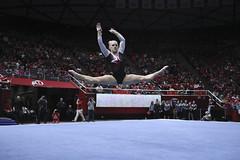 gymnastics033 (Ayers Photo) Tags: sports canon utahutes utah utes red redrocks gymnastics barefoot bare foot feet toes toe barefeet woman women