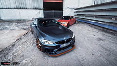 M4 GTS & 1M photoshoot (Lennard Laar) Tags: bmw m4 m4gts bmwm4 bmwm4gts 1m bmw1mcoupe coupe orange matte grey combo shoot photoshoot german car cars germany meppen race park racepark scc500 trackday nikon d750 tokina 1116mm f28 tamron 2470mm lennard laar lennardlaar photography speed generation speedgeneration