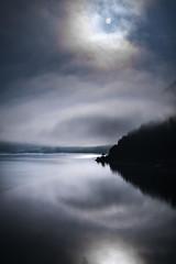 Sylvenstein (louhma) Tags: sylvenstein mond mondschein nebel bodennebel bayern speichersee sylvensteinspeichersee berge