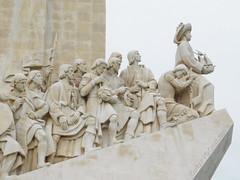 Pedrão dos Descobrimentos, Lisbon, Portugal (PedroValiente) Tags: detalle descobrimentos pedrão escultura lisboa descubrimientos enrique navegantes estremadura portugal