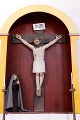 Crucifix (Piedmont Fossil) Tags: goliad state park texas mission espiritu santo statue