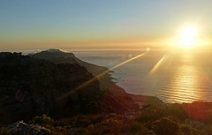 Sunset at Southern Cape