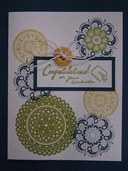 P5032363 (RealRemarkableCreations) Tags: blue school green college up yellow set high hand sale handmade graduation stamp teen card lacey etsy lovely stamped stampin congradulations
