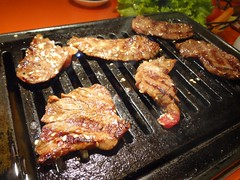 Mixed Red Meat Platter @Stamina-En, Hongmeilu, Shanghai (Phreddie) Tags: china food beer night japanese restaurant yum shanghai beef bbq meat eat korean barbecue friday tgif yakiniku staminaen 130524