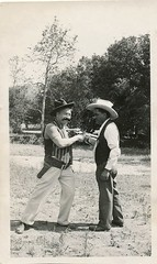 Gun Play (KID DEUCE) Tags: old west history army photo cowboy action snapshot memories picture nostalgia photograph single western revolver colt saa outlaw
