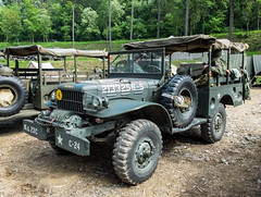 Dodge WC52 (The Adventurous Eye) Tags: world two war action military wwii wc ww2 dodge historical 1945 liberation reenactment reenactors 52 teb wc52 borovina osvobozen