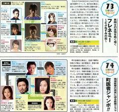 7.3 NTV フレネミー ~どぶねずみの街~ 7.4 NTV 町医者ジャンボ!!