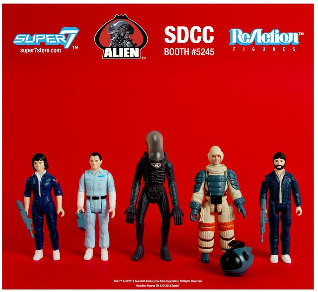 Super7 - SDCC 2013 異形限定四連發