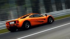 Slow Down (DocArmor98/GTracer98) Tags: orange monster speed power f1 legendary mclaren record british monza v12 gt5 granturismo5