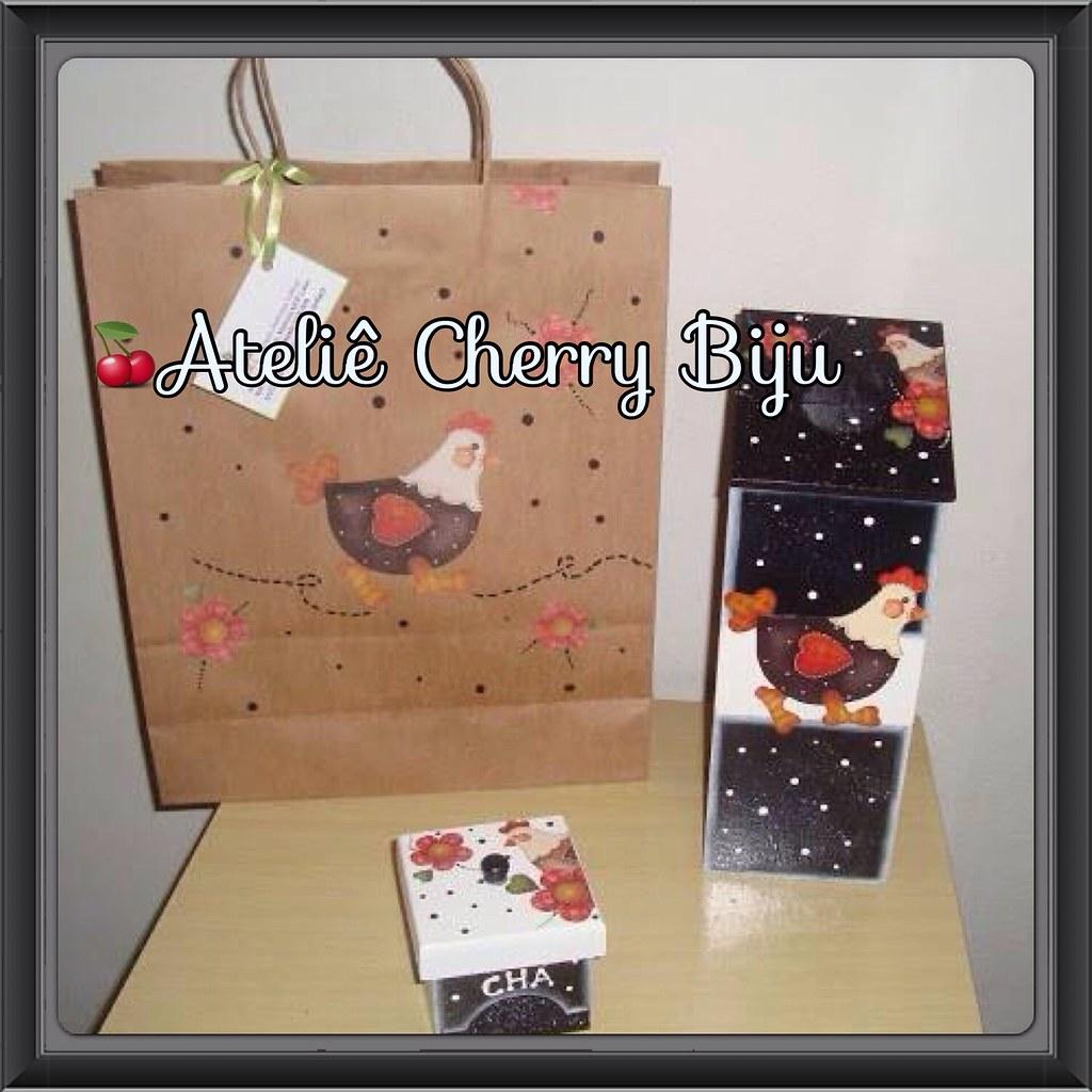Biju (ateliecherrybiju) Tags: artesanato biscuit reciclagem madeira  #9D332E 1024x1024
