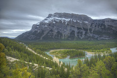 Banff National Park  19 (Largeguy1) Tags: park mountain clouds canon landscape mark iii images national getty 5d banff hoodoo