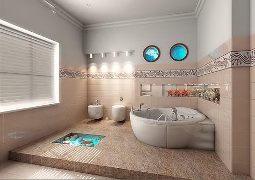 Banheiros decorado