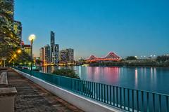 Story Bridge & Brisbane City (Bumble BC) Tags: city architecture bestof australia brisbane qld queensland brisbaneriver hdr storybridge highdynamicrangephoto hdrphotrealistic