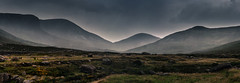 Rain in the valley. (Mr Bultitude) Tags: ireland mountain mountains rain weather clouds eagle gap windy valley northern mourne shanlieve