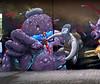 meltin mellow (Pixeljuice23) Tags: streetart graffiti ninja luxembourg mainz mellow pixeljuice pixeljuice23