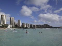 Waikiki Beach, Honolulu, Hawaii (katsuhiro7110) Tags: hawaii oahu disney shore tropicalisland honolulu waikikibeach kalakaua dvc koolinabeach kuhiobeach  disneyvacationclub aulani 2012december
