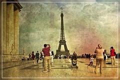 Paris (Rinogmb) Tags: paris france texture europa europe eiffel toureiffel torreeiffel francia parigi trocadro ringexcellence