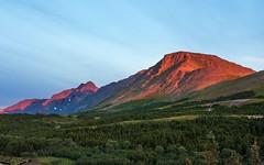 Sunset at Flattop Mountain - Glen Alps near Anchorage (Alaska) (Kretzsche93) Tags: sunset summer usa mountain alps alaska america flat top august glen anchorage amerika flattop 2013