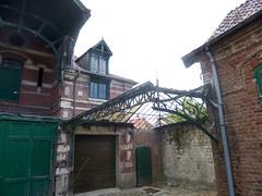 Auchy les Hesdin - Chateau Blanc dépendance , lanterneau 02