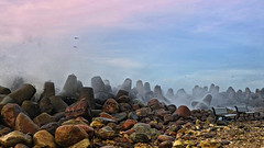 storm (©Andrey) Tags: sea storm weather seaside baltic explore ventspils moll lettonie explored ilobsterit