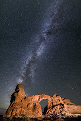 Turret Arch with Milky Way (JesseMcLaughlin) Tags: nightphotography utah arch nightscape deadhorsepoint moab archesnationalpark turret milkyway mikeberenson