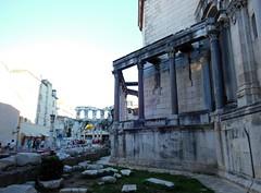20131001_28 Diocletians Palace Split Croatia (Frabjous Daze) Tags: ruins antique croatia split romanempire kroatia dalmatia diocletianspalace rauniot antiikki diocletianuksenpalatsi roomanvaltakunta