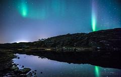 Aurora over Ravdnjejavri #1 (Tor Even Mathisen) Tags: water night reflections stars nightshot aurora nightphoto northernlights auroraborealis nordlys rypefjord rypef ravdnjejavri