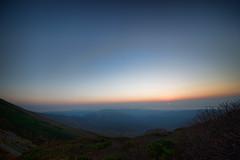 Sunrising... (szk_a) Tags: longexposure sky sun mountain japan sunrise sony earlymorning sigma  gradation 1224mm hakusan   morningtwilight slta99v