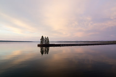 Tranquility at Yellowstone Lake (beeldmark) Tags: park sky usa lake reflection tree nature silhouette landscape ed pier us nationalpark al twilight meer village unitedstates pentax dusk grant natuur boom national if yellowstonenationalpark yellowstone vs wyoming np lucht amerika smc 1224mm f4 k5 landschap schemering アメリカ reflectie goldensection spiegeling grantvillage yellowstonenp nationaal 国立公園 verenigdestaten イエローストーン pentaxda イエローストーン国立公園 smcpentaxda1224mmf4edalif smcpda1224mmf40edalif beeldmark yellowstonenationaalpark