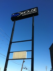 Pylon Sign | Signarama Conyers, GA | The Fish House