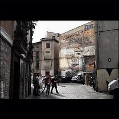 #JorgeRodriguezGerada's subtle work in #tudela #spain for #avantgardeurbano. #wallkandy #graffiti #streetart #art #painting #fb #f #t. @littlebelloboy @ronenglishart @beaustanton (Photos © Ian Cox - Wallkandy.net) Tags: street streetart art canon ian photography graffiti spain gallery document cox tudela 2013 wallkandy jorgerodriguezgerada avantgardeurbano