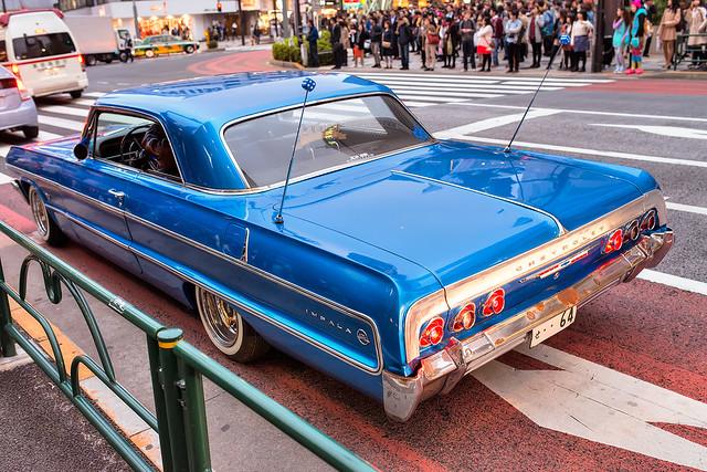 street chevrolet japan tokyo classiccar chevy impala lowrider mejidori