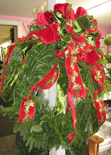 Holiday Wreath - Lisa Greene, AAF, AIFD, PFCIWreath