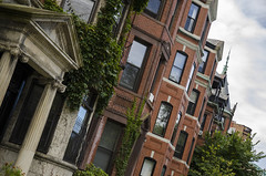 Boston Brownstones (lncgriffin) Tags: travel usa boston architecture nikon massachusetts backbay brownstone townhomes commonwealthavenue d7000 1685mmf3556gvr