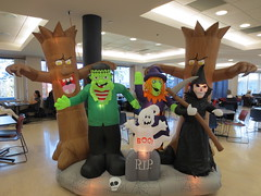 Meeting of the Board of Governors (jamica1) Tags: canada halloween monster campus university bc grim reaper witch okanagan ghost ubc columbia boo frankenstein inflatable british kelowna ubco