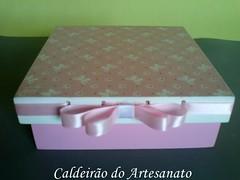 Caixa em mdf (Caldeirão do Artesanato) Tags: artesanato caixa em madeira mdf portatreco decoupagem artesanatoemmdf caixamultiuso decoupagemcomguardanapo artesanatocomdecoupagem