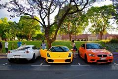 Evora + Gallardo + M3 (Twang Photography) Tags: cars automobile lotus ferrari