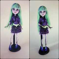 Monster High - Twyla Basic (Sara.C~) Tags: monster high doll wishes 13 collector twyla