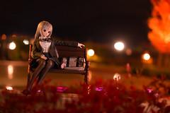 Night Portrait (のの♪) Tags: 100mm dd 夜景 制服