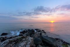 A met dell'abisso (Alessandro.Granziera) Tags: tramonto mare laguna sole grado friuliveneziagiulia canon450d sigma816