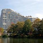 Neu-Ulm - Wohnsilo am Ufer der Donau thumbnail