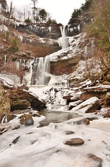 DSC_0283 (Michael P Bartlett) Tags: winter snow ice water rocks falls waterfalls streams catskills kaaterskillfalls creeks tokina1116 waterblurring