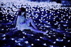 Blue Fantasia (Ateens Chen) Tags: people hongkong nikon bokeh dd volks 香港 shatin rina ateens nightportrait ogata 沙田 flickrexplore ボケ dollfiedream d700 starlightgarden flickrhongkong ボークス ogatarina 緒方理奈 afsnikkor58mmf14g flickrhkma