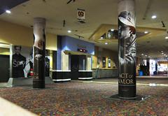Entertainment, Acto of Valor at Regal Edwards Mira Mesa, Column Wraps