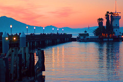 The Wharf, San Francisco, Pier 39 (AngelBeil) Tags: california sky pier san francisco sunsets wharf 39 the ilobsterit