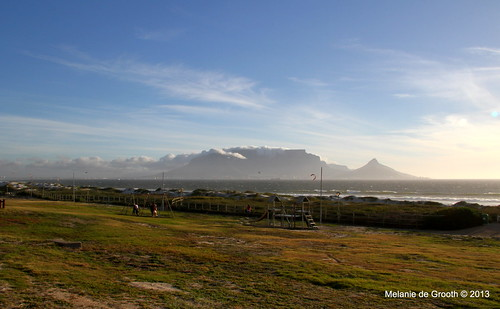 Bloubergstrand View of Table Mountain
