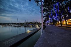 Dawn at Puteri Harbour (Nur Ismail Photography) Tags: reflection clouds marina sunrise boats cloudy traders mirrorreflection singleexposure nusajaya sifoocom puteriharbour nikond800e nurismailphotography nurismailmohammed nurismail