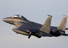 Eagle (Bernie Condon) Tags: fighter eagle aircraft aviation military jet boeing usaf warplane f15 lakenheath
